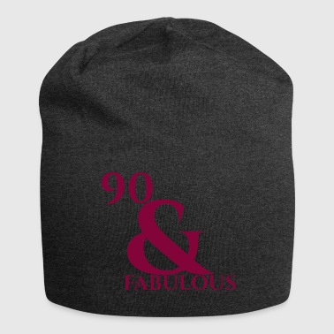 90th birthday: 90 & Fabulous - Jersey Beanie