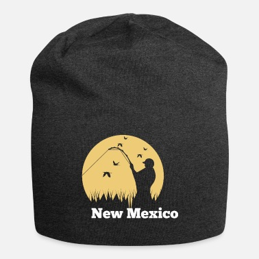New-mexico Fly Fishing in New Mexico - Jersey Beanie