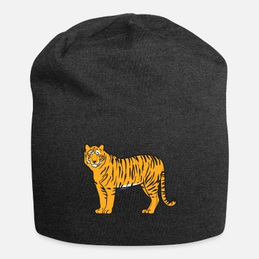 Mature Mature handsome and magnificent tiger - Jersey Beanie