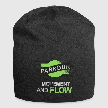 Movement parkour movement and flow - Jersey-Beanie
