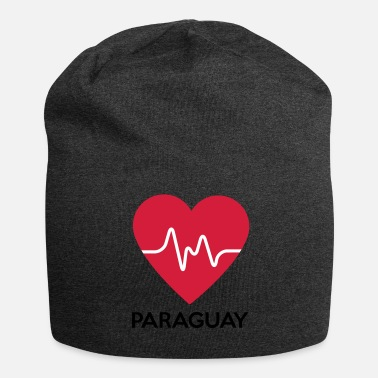 Paraguay heart Paraguay - Jersey Beanie