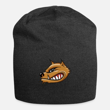 Airbrush Hyena cartoon airbrush - Jersey Beanie