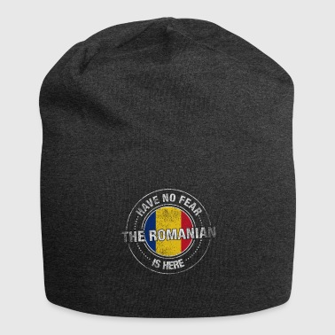 Have No Fear The Romanian Is Here Shirt - Jersey Beanie