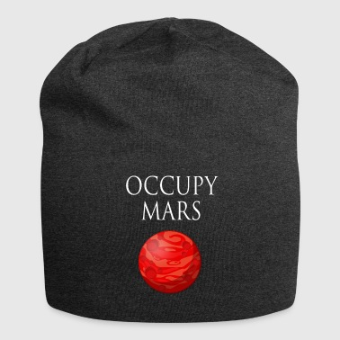 Occupy maart Space - Jersey-Beanie