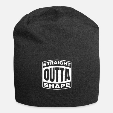 Shape Straight Outta Shape Grappig - Jersey-Beanie