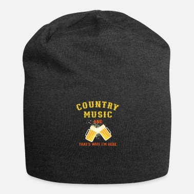 Country Musica country - Beanie in jersey