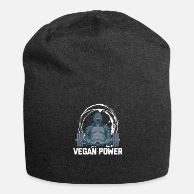 Enviromental Vegan Power Vegan Sport Gift - Jersey Beanie