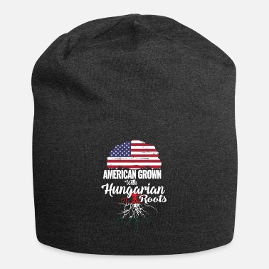 Hungarian American grown - Hungarian roots - Jersey Beanie