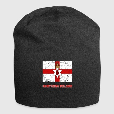 Nordirland Flagge - Jersey-Beanie
