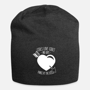c25262dccb147 Panic Girls Love Girls and Boys Panic Disco Gift - Beanie