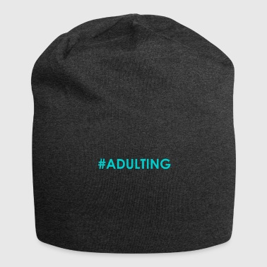 #adulting - Jersey Beanie