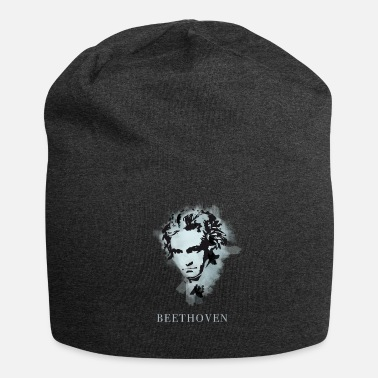 Beethoven beethoven classical music composer concert deaf pop - Jersey Beanie