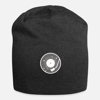 Turntable Vinyl Universe Turntable Gift Long Play - Beanie in jersey