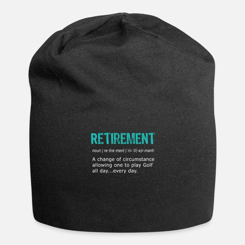 ea01817fdf6 Funny Golf Retirement Definition for Retirement Beanie