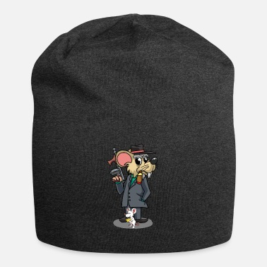 Italien Mafia Mouse Gangster Dyr Kids Fantasy Cartoon - Jersey-Beanie