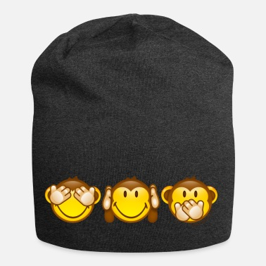 SmileyWorld Three Mystic Apes - Beanie in jersey