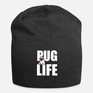 Pug Life Pug Dog Funny Design - Pug Life - Beanie 68abe2e64f0