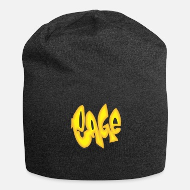 Cage cage graffiti - Jersey Beanie