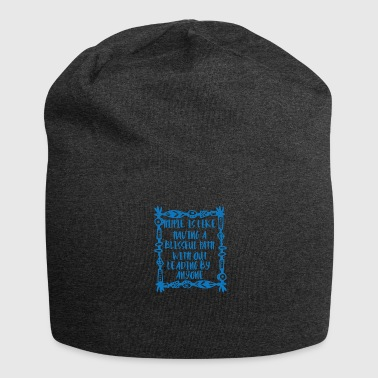 Bliss Hippie / Hippies: Hippie is like having a blissful - Jersey Beanie