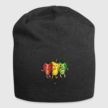 Eat lightly - Exercise hard - Jersey Beanie