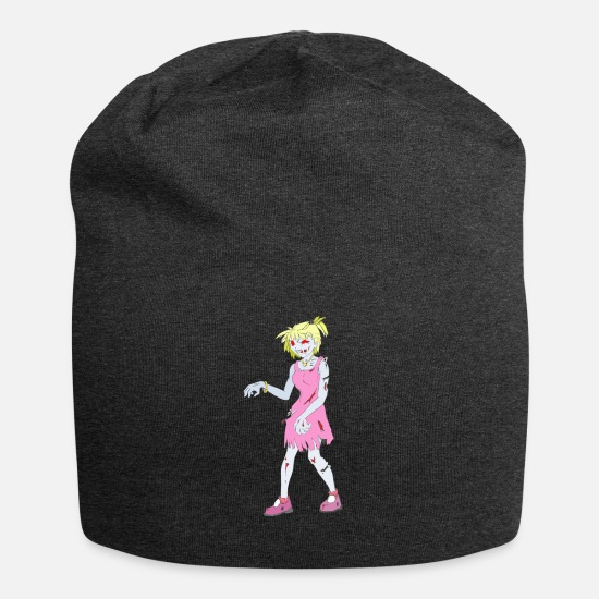 Mortvivant Casquettes et bonnets - Collection Zombie: Zombie Lady - Beanie charbon