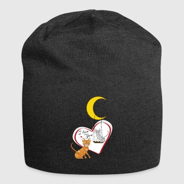 Cats on swing - Jersey Beanie