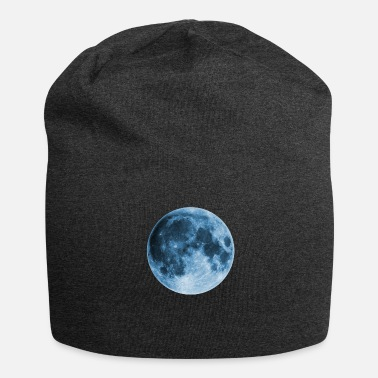 Wicca Full Moon, magic, fantasy, night, wicca, space - Jersey Beanie