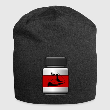 Muscle Training Muscle Pill Anabol - Jersey Beanie