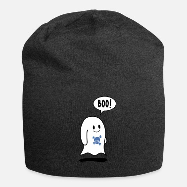 Deaths Head Sweet Ghost with Death's Head - Jersey Beanie