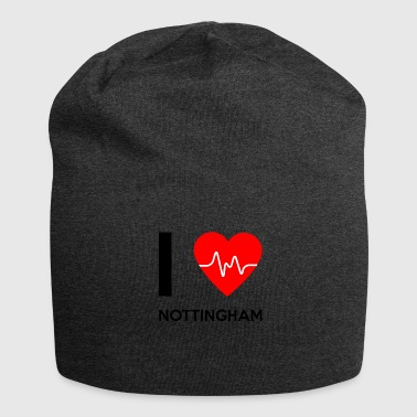 I Love Nottingham - I love Nottingham - Jersey Beanie