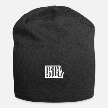 Holiday Techno Holiday - Bonnet en jersey