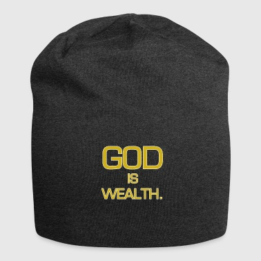 God is rijkdom. - Jersey-Beanie