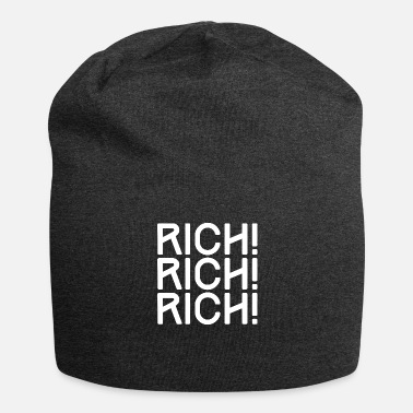 Ricco RICH, ricco, ricco - ricco, ricco, RICH - Beanie in jersey