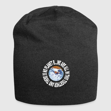 Earth Day No Planet B - Jersey Beanie