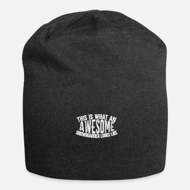 Boarder Awesome Boarder - Boarder Macht - Jersey-Beanie
