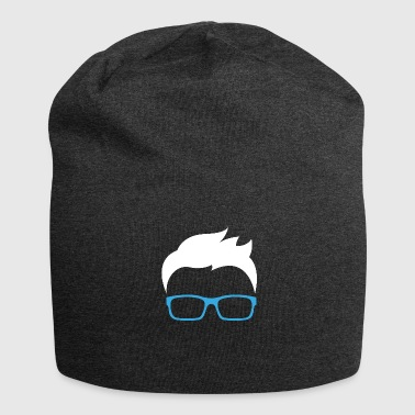 Smart Ass Smart Ass Nerd Glasses Freak Gift - Jersey Beanie