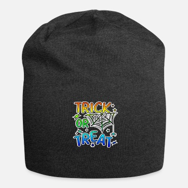 Trick Or Treat Trick or treat Halloween trick or treat - Jersey-Beanie