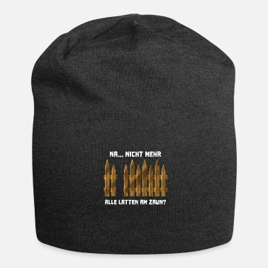 Renner Funny sayings gardener allotments allotments - Jersey Beanie