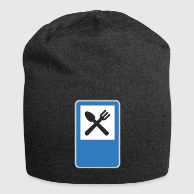 Road sign restaurant - Jersey Beanie