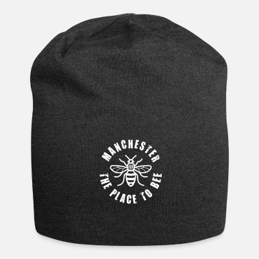 Manchester Manchester - The Place to BEE - Jersey Beanie