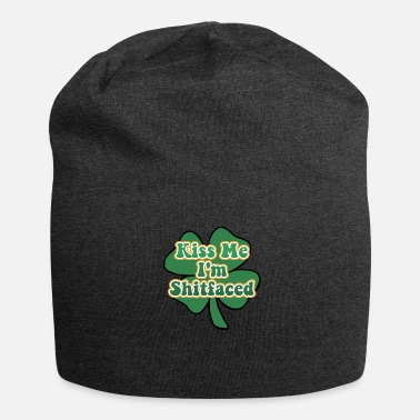 Kiss Kiss Me I'm Irish and Shitfaced - Beanie