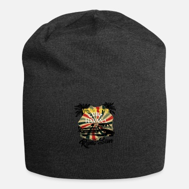 California Old School Muscle Car en Cuba - Gorro holgado de tela de jersey