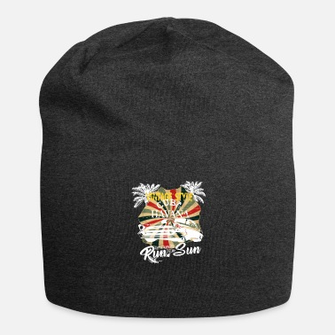 Auto Sportive Patch Muscle Car Cuba - Beanie in jersey