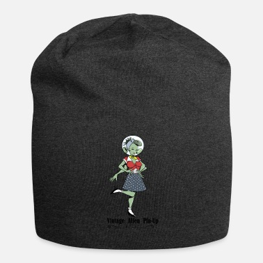 Pin Pin Up Alien Vintage - Bonnet en jersey