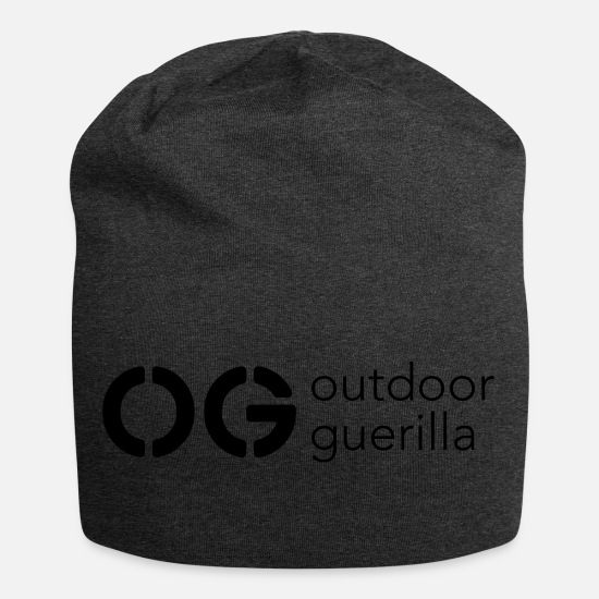 Outdoor Caps & Hats - outdoor guerilla - Beanie charcoal grey