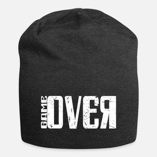 Konsol Kasketter & huer - Game Over Gaming T-Shirt - Beanie charcoal