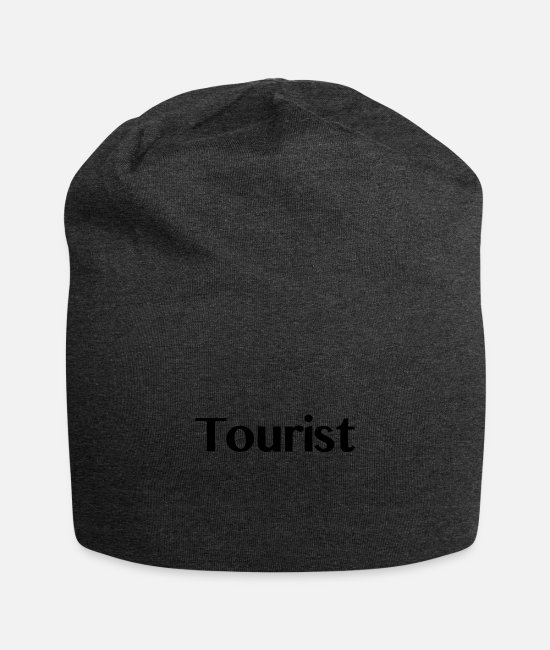 Vacation Caps & Hats - tourist - Beanie charcoal grey