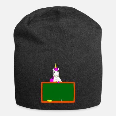 school child unicorn pony - Beanie
