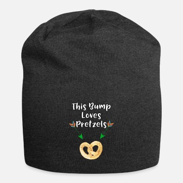 Craving Pretzels This Baby Bump Loves Pretzels Funny Pregnancy - Beanie