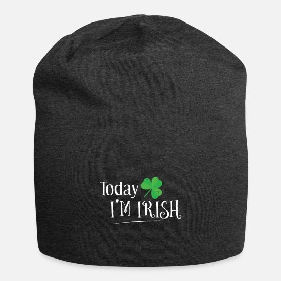 Irish Caps & Hats - Today Im Irish - Beanie charcoal grey
